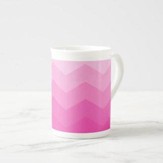 Bubble Gum Ombre Tea Cup