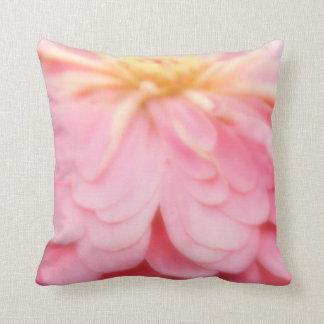 Bubble gum Pink Flower pillow