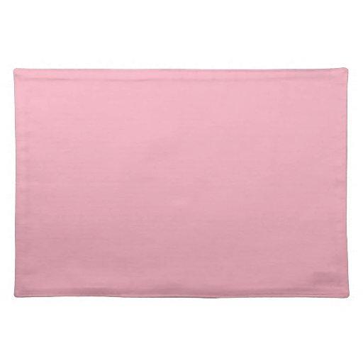 Bubble Gum Pink Placemats
