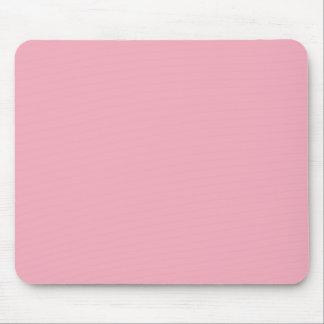 Bubble Gum Pink Solid Color Mouse Pad