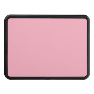 Bubble Gum Pink Solid Color Trailer Hitch Cover