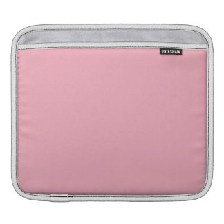 Bubble Gum Pink Solid Color Sleeve For iPads
