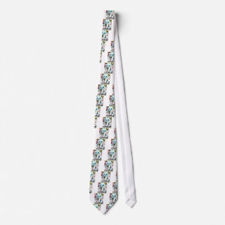 Bubble Gum Riot Neck Tie