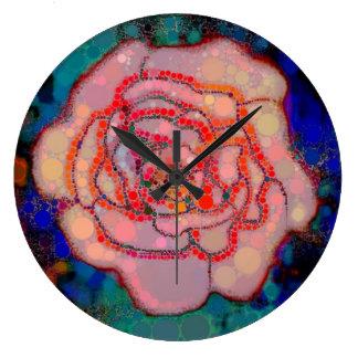 Bubble Gum Rose Clock