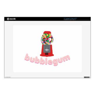 Bubble Gum Laptop Decal