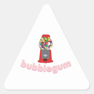 Bubble Gum Triangle Sticker