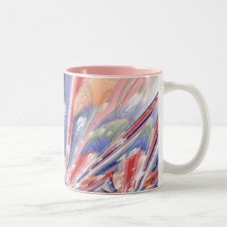Bubble Gum Two-Tone Coffee Mug