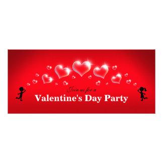 Bubble Hearts - Valentine s Day Party Invitations