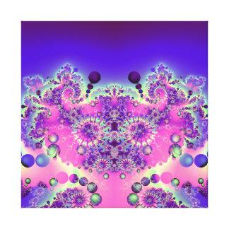Bubble Koala Variation 1  Wrapped Canvas Print