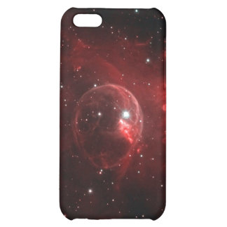 Bubble nebula in space case for iPhone 5C