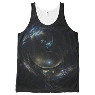 Bubble Nebula All-Over Print Tank Top