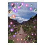 Bubble Path Greeting Card