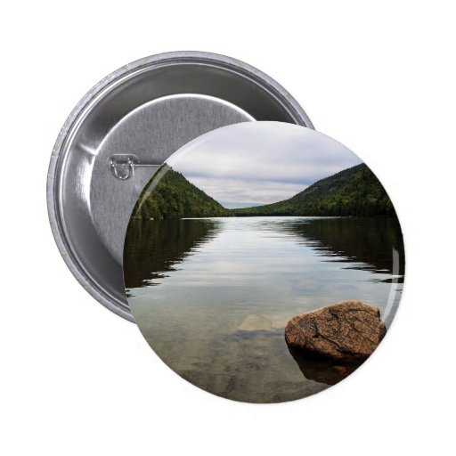 Bubble Pond Acadia Park 2 Inch Round Button