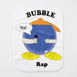 Bubble Rap Burp Cloth