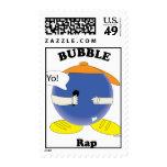 Bubble Rap Postage Stamp
