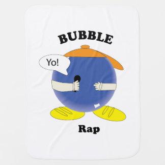 Bubble Rap Stroller Blanket
