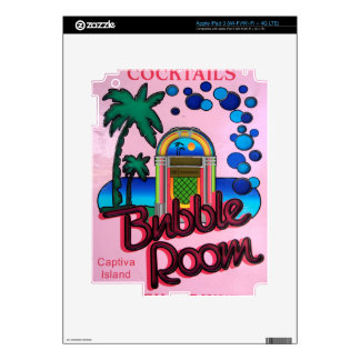 Bubble Room Decal For iPad 3
