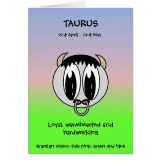 Bubble Scope Taurus Card