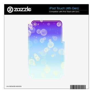 Bubble Sparkle Decal For iPod Touch 4G