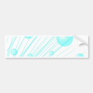 Bubble Stream Bumper Sticker