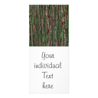 Bubble Stripes green Rack Cards