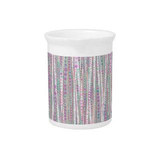 Bubble Stripes soft Drink Pitchers