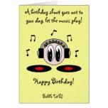 Bubble Tot DJ Greeting Cards