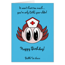 Nurse birthday cards greeting photo cards zazzle bookmarktalkfo Images