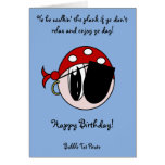 Bubble Tot Pirate Greeting Cards