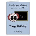 Bubble Tot Prof Greeting Card
