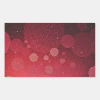 Bubble Tree Rectangular Sticker