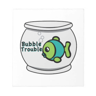 Bubble Trouble Memo Notepad