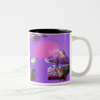 Bubble up for Safety Two-Tone Coffee Mug