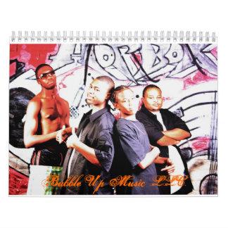 Bubble Up Music LLC. Calendar
