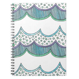 Bubble Wave Notebook