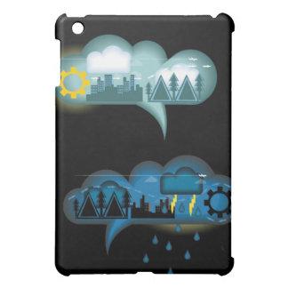 Bubble Weather Communication iPad Mini Covers