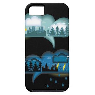 Bubble Weather Communication iPhone SE/5/5s Case