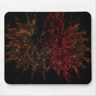 Bubble Wings Fire Mouse Pad