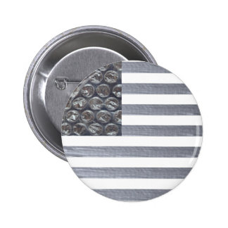 Bubble Wrap and Duct Tape Flag Pins