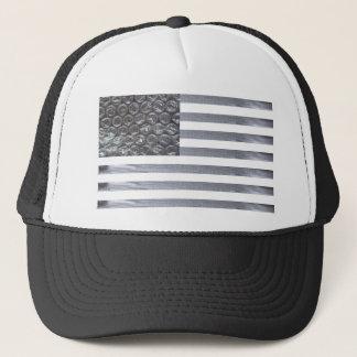Bubble Wrap and Duct Tape Flag Trucker Hat