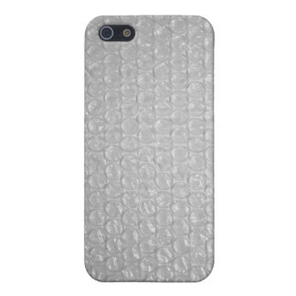 Bubble wrap cover for iPhone SE/5/5s