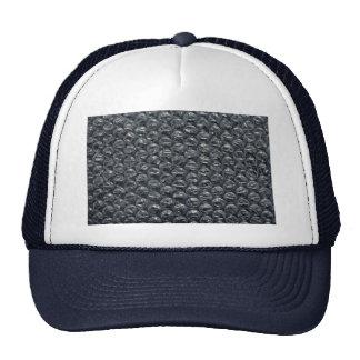 Bubble wrap mesh hats