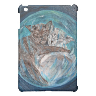 Bubblecats in Cyberspace iPad Mini Cover