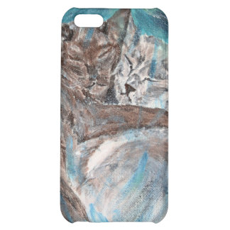 Bubblecats in Cyberspace iPhone 5C Cover