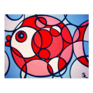 bubblefish postcard