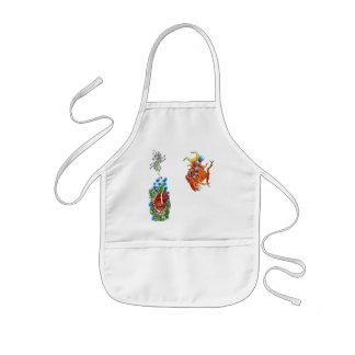 bubblefish seahorse Kid's apron