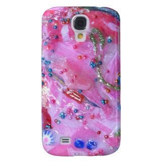 Bubblegum Bling in PINK Samsung S4 Case