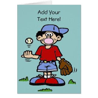 Bubblegum Boy Greeting Card