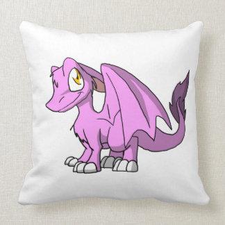 Bubblegum/dragón peludo rosado del SD Almohadas