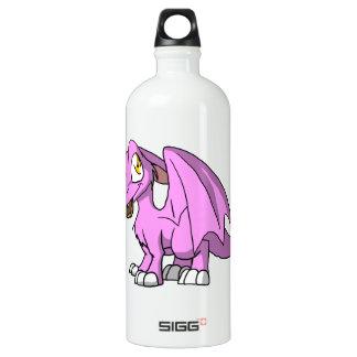 Bubblegum/dragón peludo rosado del SD con el